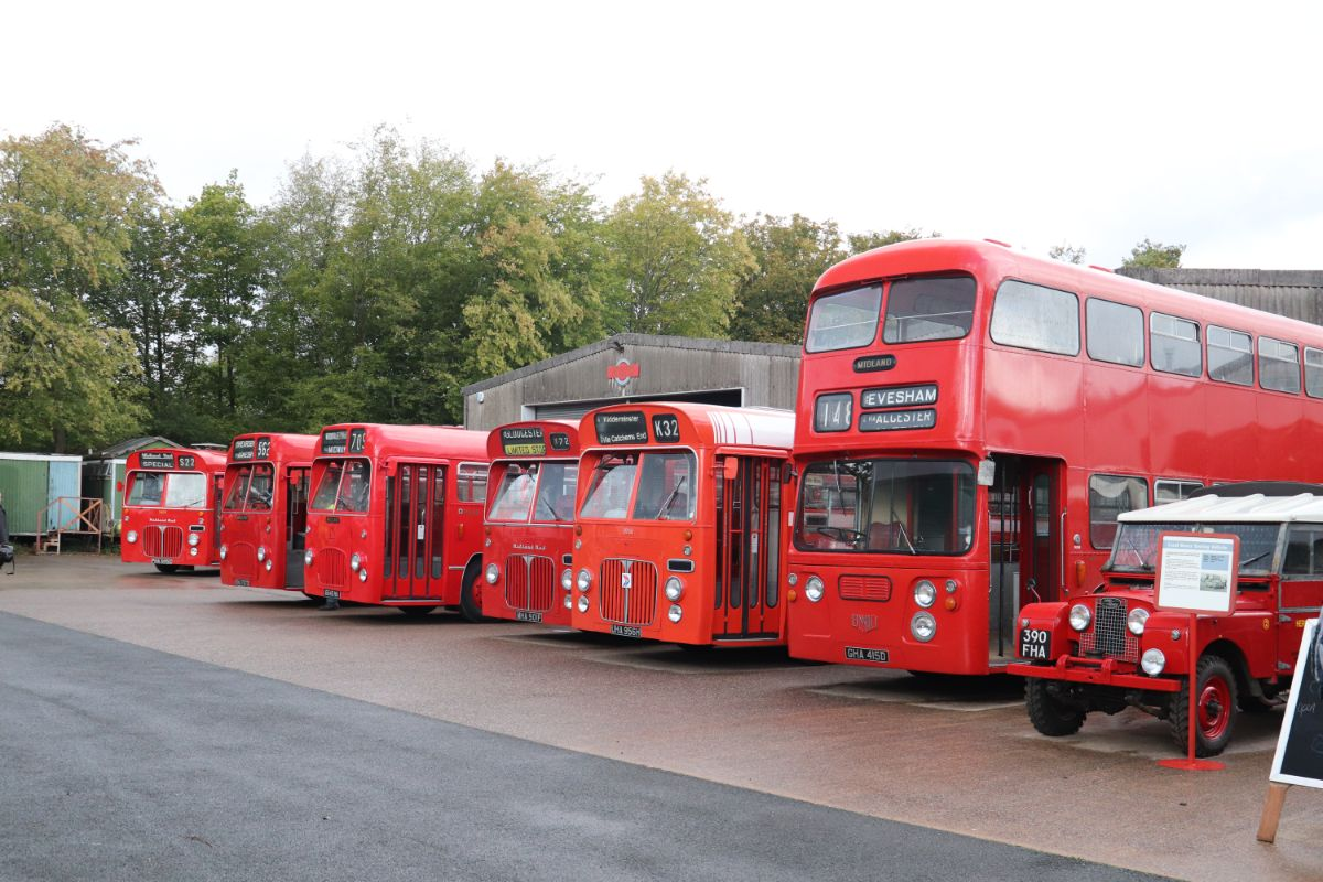 Midland Red memories at Wythall